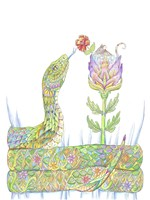 Mouse Pocket Snake Fine-Art Print