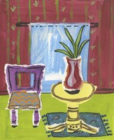 Sunroom with Vase Fine-Art Print