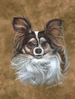 Gizzy Papillion Dog Fine-Art Print