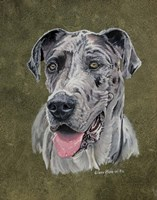 Jaeger Great Dane Fine-Art Print