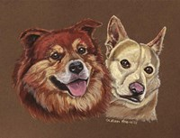 Mix Breed Dogs Fine-Art Print