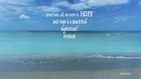 All We Have Is Hope Fine-Art Print