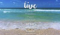 Live A Life Of Freedom Fine-Art Print