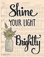 Shine Your Light Brightly Fine-Art Print