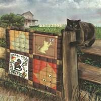 Quilt Cat Fine-Art Print