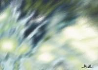 Blue Coastal Reflections Fine-Art Print