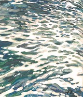 Frothing Wave Turning Fine-Art Print