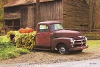 Fall Pumpkin Truck Fine-Art Print