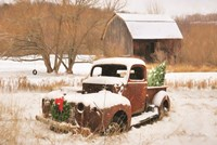 Christmas Lawn Ornament Fine-Art Print