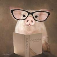 Creative Cooking Pig Fine-Art Print