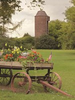 Clayton Flower Wagon Fine-Art Print