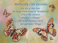 Butterfly Life Lessons Fine-Art Print