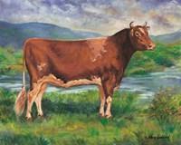 The Prize Bull Fine-Art Print