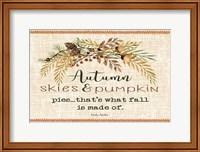 Autumn Skies Fine-Art Print