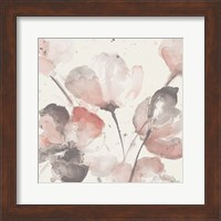 Neutral Pink Floral I Fine-Art Print