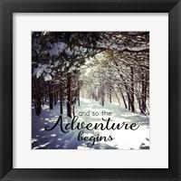 Adventure Begins Fine-Art Print
