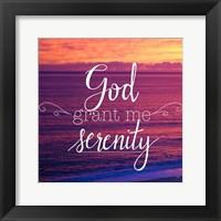 God Grant Me Serenity Fine-Art Print