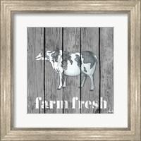 Wood Farm Grey I Fine-Art Print