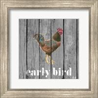 Early Bird Rooster Fine-Art Print
