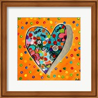 Neon Hearts of Love IV Fine-Art Print