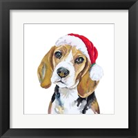 Holiday Dog I Fine-Art Print