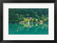 Wooden Farmhouses Architecture Olden Norway Fine-Art Print