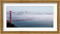San Francisco Golden Gate Bridge Disappearing Into Fog Fine-Art Print