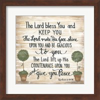 The Lord Bless You Fine-Art Print