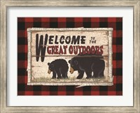 Plaid and Bears Fine-Art Print