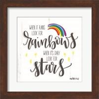 Rainbows and Stars Fine-Art Print