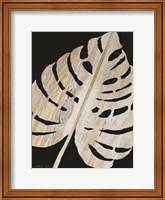 Palm Frond Wood Grain III Fine-Art Print