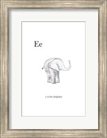Ee Is For Elephant Fine-Art Print