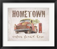 Hometown Values Found Here Fine-Art Print