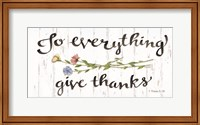 To Everything Give Thanks Fine-Art Print