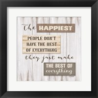 Happiest People Fine-Art Print