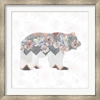 Square Bear Fine-Art Print