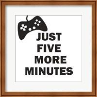 Five More Minutes BW Fine-Art Print