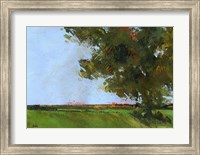 Autumn Oak and Empty Fields Fine-Art Print