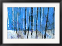 Birch and Black Ash Saplings Fine-Art Print