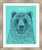 I Like You Bear Fine-Art Print