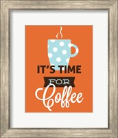 Coffee Time (Orange) Fine-Art Print