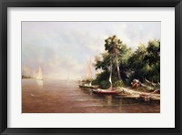 Fisherman Landing Fine-Art Print