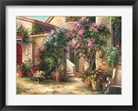 Garden Courtyard Fine-Art Print