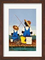 Father and Son Bonding Fine-Art Print