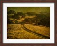 Ranch Road and Oak Savannah Fine-Art Print