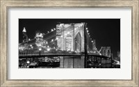 Brooklyn Bridge at Night Fine-Art Print
