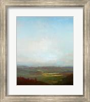 Green Valley Below Fine-Art Print