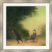 La Passeggiata of the Lady Dowager Fine-Art Print