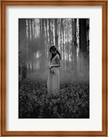 Girl in the Woods Fine-Art Print