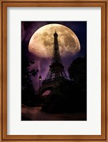 Moonlight in Paris Fine-Art Print